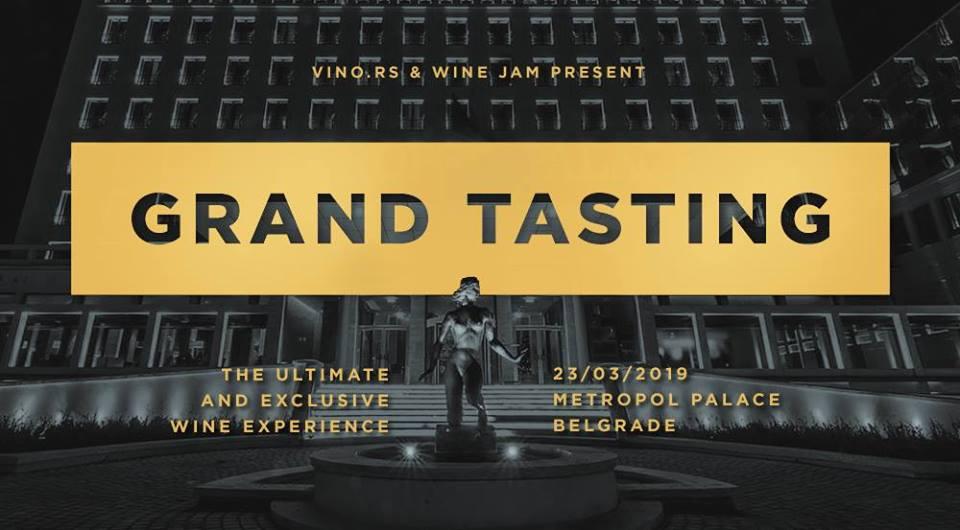 GRAND TASTING, Belgrade 23/3/2019