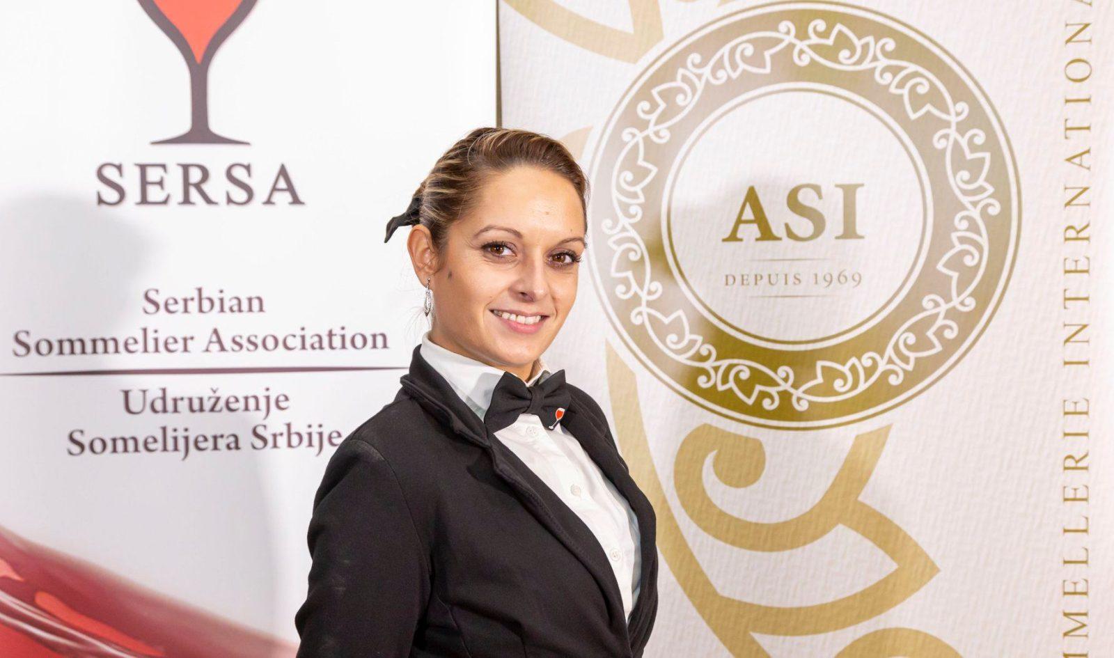 Novosađanka Milena Zakarić šampionka Srbije u penušavim vinima!