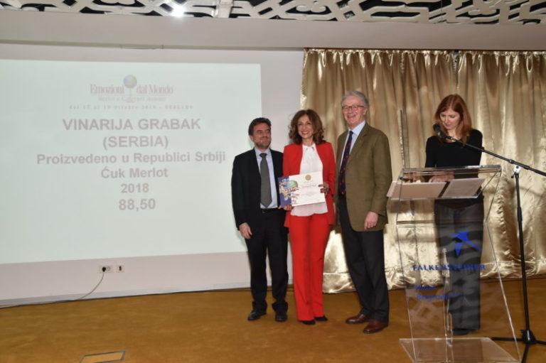 #EMOZIONIDALMONDOGOESTOSERBIA Nagrada Grabak