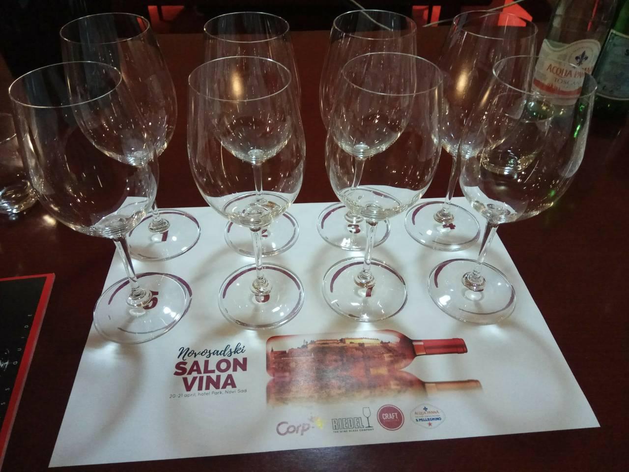 Uspešna premijera Novosadskog salona vina