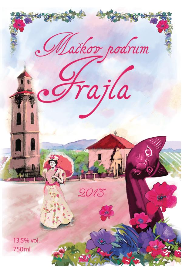 Frajla, roze sa šarmom Fruške gore