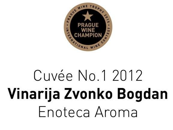 Odličan uspeh vinarije Zvonko Bogdan u Pragu