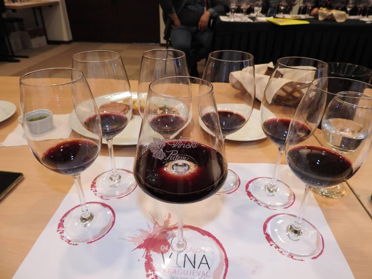 Moćne crvene kupaže na 4° Salonu vina u Kragujevcu